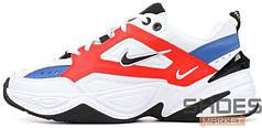 Мужские кроссовки Nike M2K Tekno White/Orange/Blue