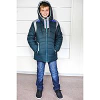 Модная тёплая зимняя куртка для мальчиков,возраст 5-11  лет,цвета разные S9937