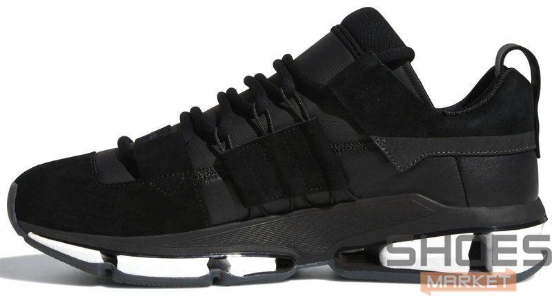 Женские кроссовки Adidas Twinstrike ADV Stretch Leather Black B28015, Адидас Твинстрайк АДВ Стретч