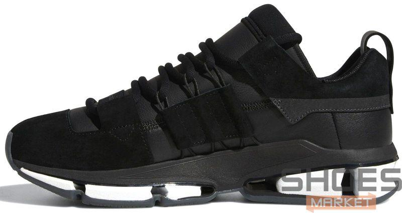 Мужские кроссовки Adidas Twinstrike ADV Stretch Leather Black B28015, Адидас Твинстрайк АДВ Стретч