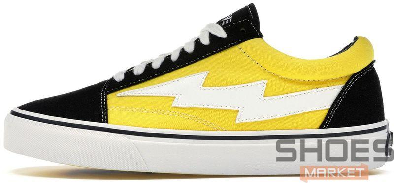 Женские кроссовки Revenge X Storm Low Top Black Yellow RS588977-004, Ревендж Сторм Лов Топ
