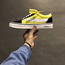 Женские кроссовки Revenge X Storm Low Top Black Yellow RS588977-004, Ревендж Сторм Лов Топ, фото 3