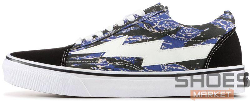 Мужские кроссовки Revenge X Storm Low Top Blue Camo 67I-WMP001, Ревендж Сторм Лов Топ