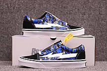 Мужские кроссовки Revenge X Storm Low Top Blue Camo 67I-WMP001, Ревендж Сторм Лов Топ, фото 3