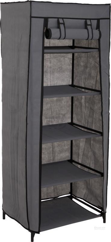 Гардероб текстильний для одягу Home GDX-2210A 1500х600х460 мм сірий