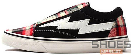 Мужские кроссовки Revenge x Storm Low Top Plaid/Black, Ревендж Сторм Лов Топ, фото 2
