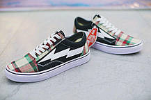 Мужские кроссовки Revenge x Storm Low Top Plaid/Black, Ревендж Сторм Лов Топ, фото 3