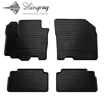 Автомобильные коврики Suzuki SX4 2016- Комплект (Stingray)