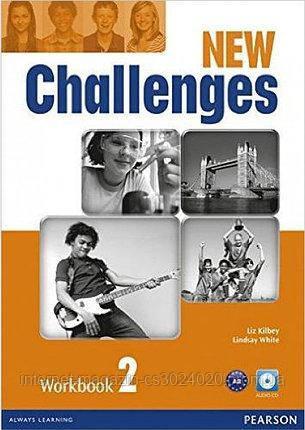 Challenges NEW 2 Workbook+CD-ROM ISBN: 9781408286135
