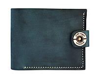 Кошелек, бумажник, портмоне мужской Gato Negro Classic Blue ручной работы