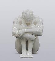 """Фарфоровая статуэтка """"Атлет"""" (Глазурь) WS-105/ 2"""