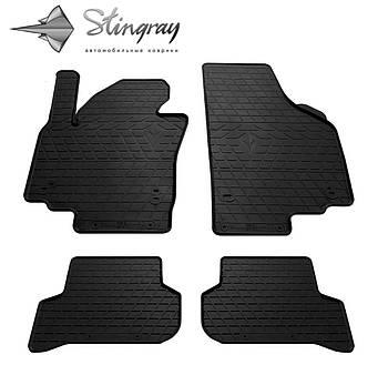 Автомобильные коврики Skoda Yeti 2009 / VW Golf Plus 2005- / Seat Altea XL 2009- Комплект (Stingray)