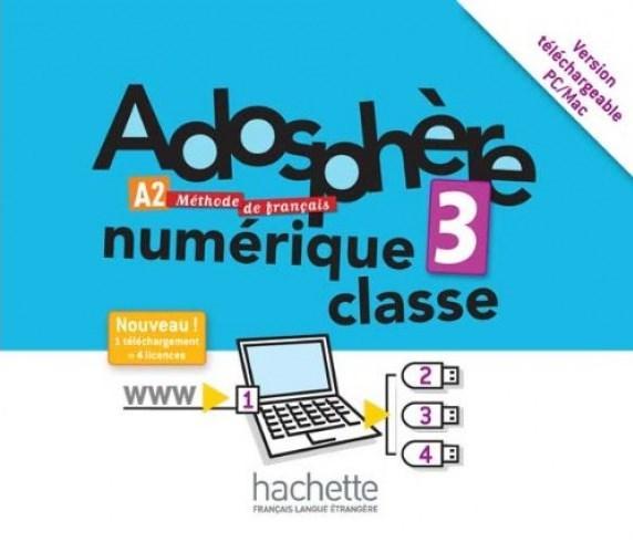 Adosphère 3 Manuel numérique enseignant (carte)