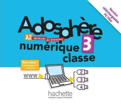 Adosphère 3 Manuel numérique enseignant (carte), фото 2
