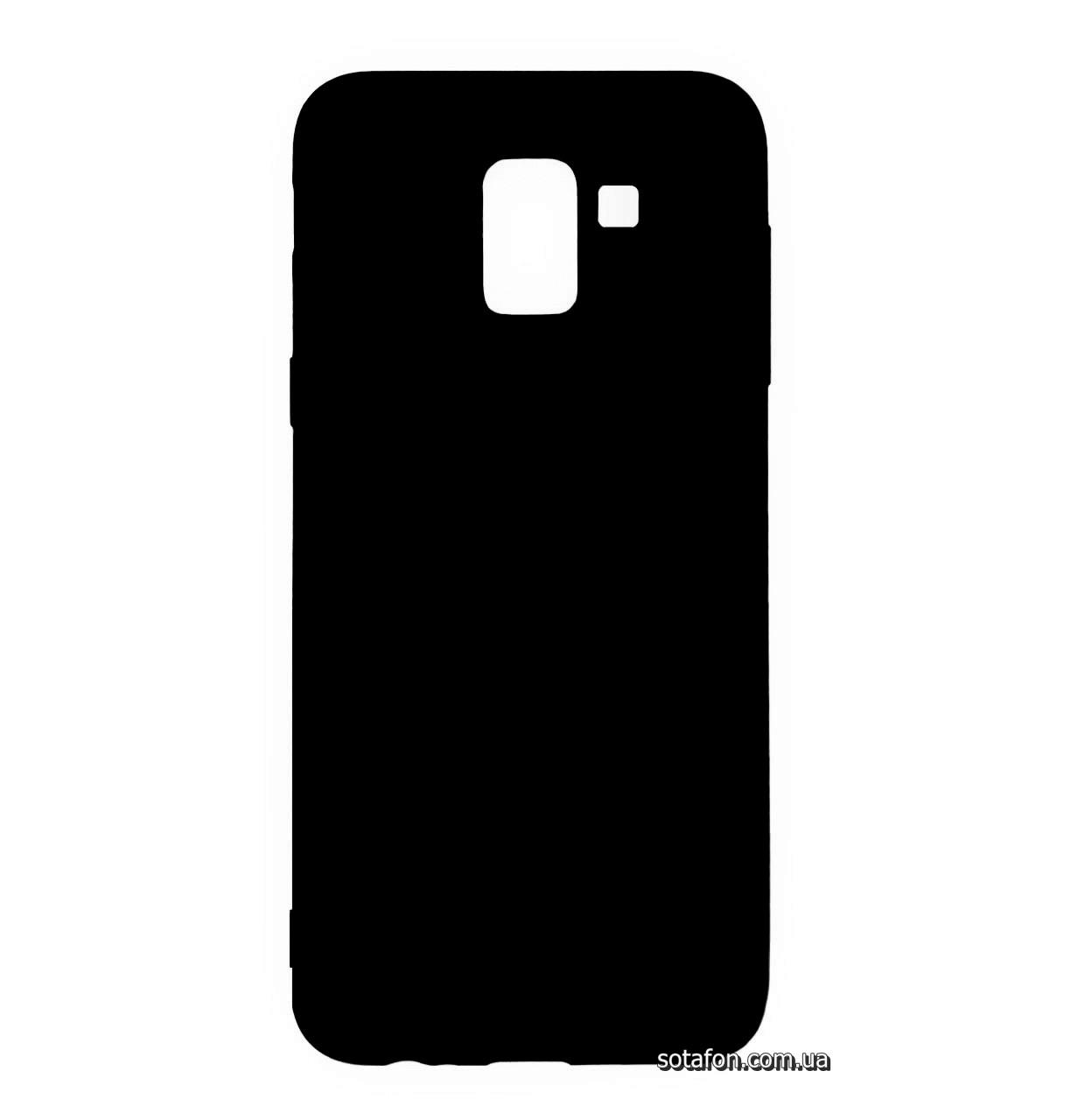 Силиконовый чехол Candy на Samsung Galaxy J6 (2018) SM-J600F Black
