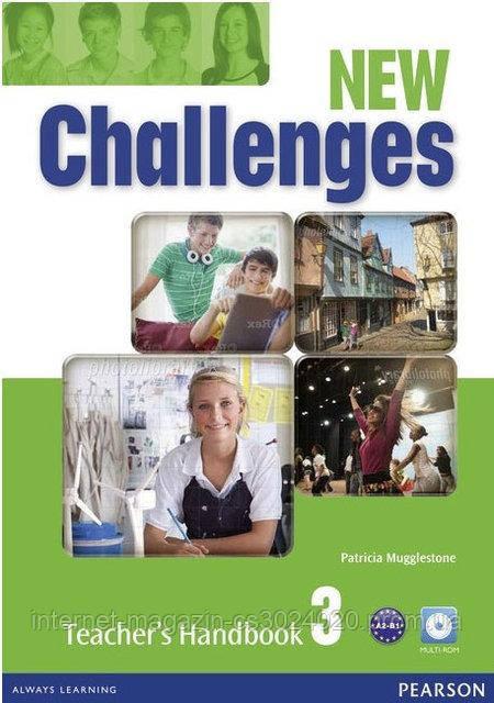 Challenges NEW 3 Teacher's Book + MultiROM ISBN: 9781408298428