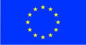 Флаг Евросоюза 0,9х1,35 м. атлас