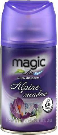 Сменный баллон для автоматического освежителя воздуха Magic Air Alpine meadow 250 мл, фото 2