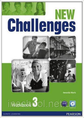 Challenges NEW 3 Workbook+CD-ROM ISBN: 9781408298435