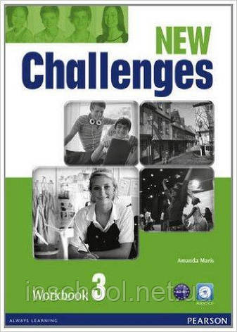 Challenges NEW 3 Workbook+CD-ROM ISBN: 9781408298435, фото 2
