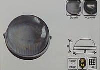 Светодиодный LED светильник ЖКХ Lemanso,накладной круг 18w (чёрный/белый)