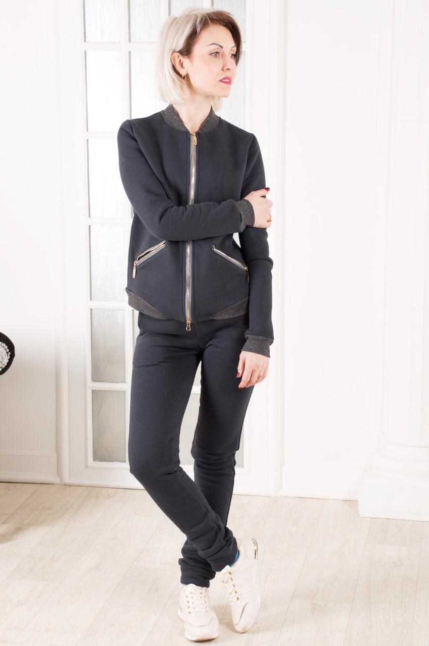 Женский спортивный костюм  тёплый  MilaVa размер 42