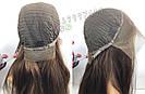 🙎 Макси длинный натуральный парик тёмного русый , фото 6