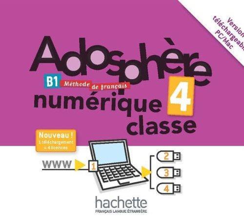Adosphère 4 Manuel numérique enseignant (carte)