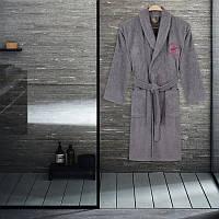 Халат Beverly Hills Polo Club - 355BHP1706 S/M grey серый
