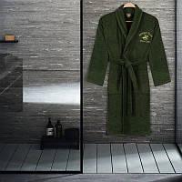 Халат Beverly Hills Polo Club - 355BHP1707 M/L khaki хаки