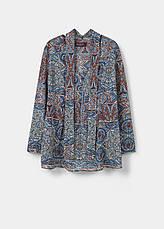 Блуза женская Mango размер 50-52 RU блузка шифоновая с длинным рукавом, фото 3