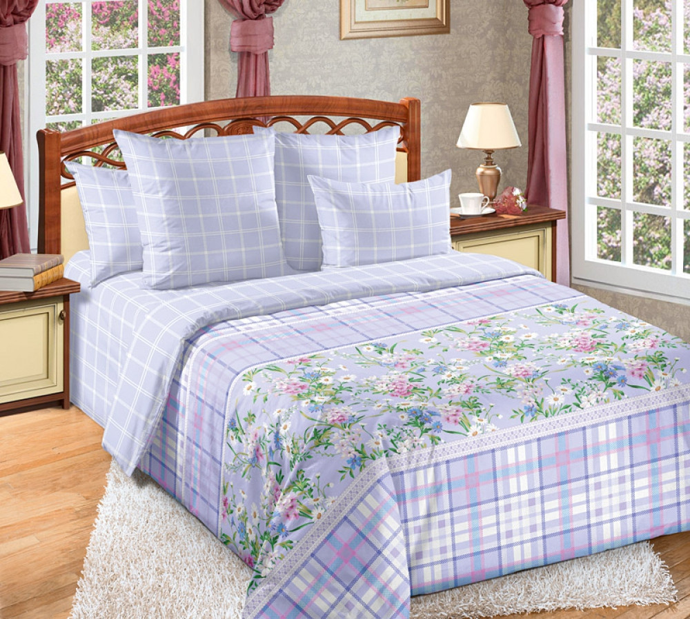 Комплект постельного белья из перкаля Прованс
