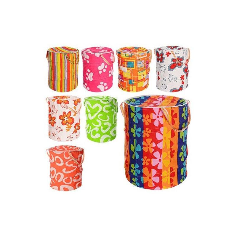 Корзина для игрушек M 1302 8 цветов