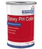 2-компонентное эпоксидное эластичное покрытие для нагруженных поверхностей  EPOXY PH COLOR