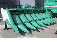 Жатка для уборки кукурузы КМС-6-19 для комбайна VECTOR 410/420