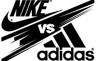 Nike vs Adidas ( Найк против Адидас )