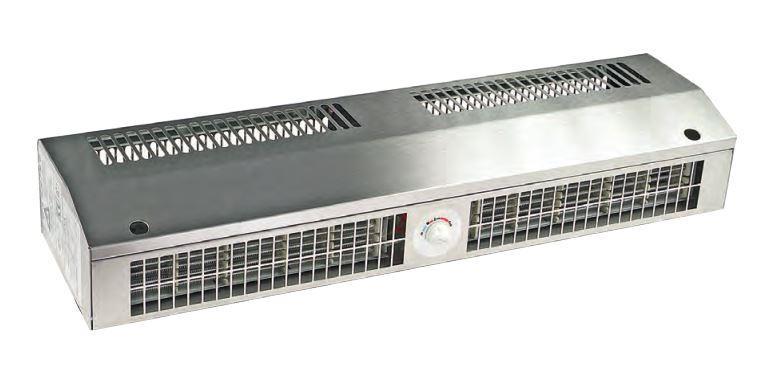Повітряна завіса з нагріванням NeoClima Standard E 07 (4 кВт, отвір 0,7 м, горизонт)