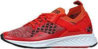 Мужские кроссовки Puma Ignite Evoknit Low Red White (пума игнайт, красные/белые)