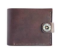 Кошелек, бумажник, портмоне мужской Gato Negro Classic Brown ручной работы