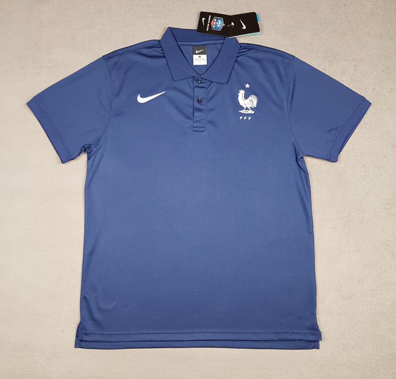 Футбольная футболка поло сборной Франции