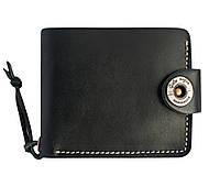 Кошелек, бумажник, портмоне мужской Gato Negro Four Black ручной работы