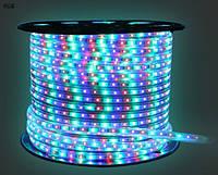 Лента светодиодная 220V SMD5050 в силиконе RGB , фото 1
