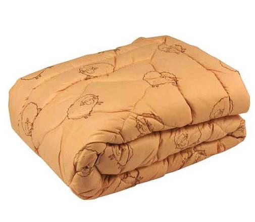 Одеяло Руно шерстяное двуспальное евро  200x220 см Комфорт плюс 450г/м.кв. (322.52ШУ), фото 2