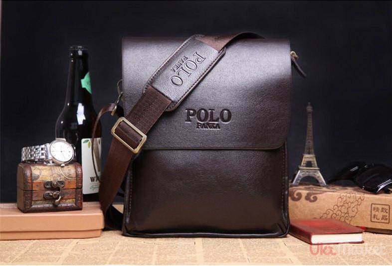 01e54c521ad6 Мужские кожаные Мужская сумка Polo Videng Classic.Мужская сумка POLO. Сумка  через плечо.Мужские кожаные