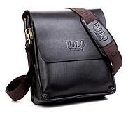 Мужская сумка Polo Videng Classic. Мужская сумка POLO. Сумка через плечо. Мужские кожаные сумки., фото 1