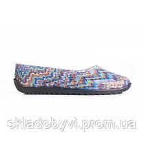 Балетки резиновые женские цветные Литма , фото 2