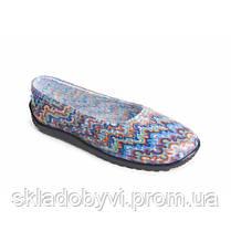Балетки резиновые женские цветные Литма , фото 3