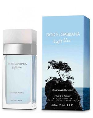 Dolce&Gabbana Ligth Blue Dreaming in Portofino 50ml наливная женская туалетная парфюмированная вода тестер духи аромат