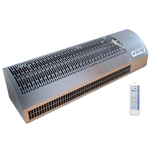 Воздушная завеса с нагревом NeoClima Intellect E 08 X L/R (6 кВт, проем 0,8 м, горизонт)