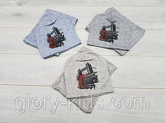 Трикотажная шапка и хомут, подкладка х/б р50-52